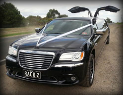 Black Chrysler 300c